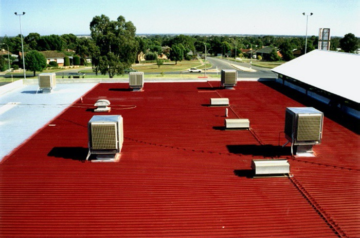 Commercial Roof Restoration Sydney 1